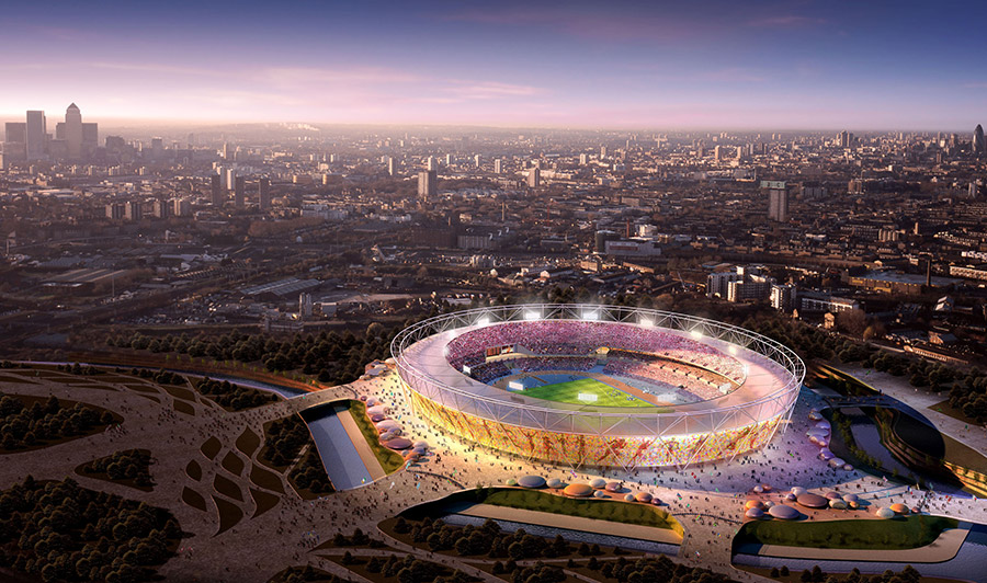 2012 London Olympics Stadium / POPULOUS