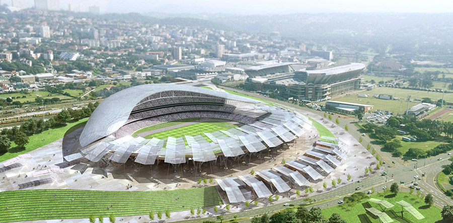 2010 South African World Cup Stadium / POPULOUS