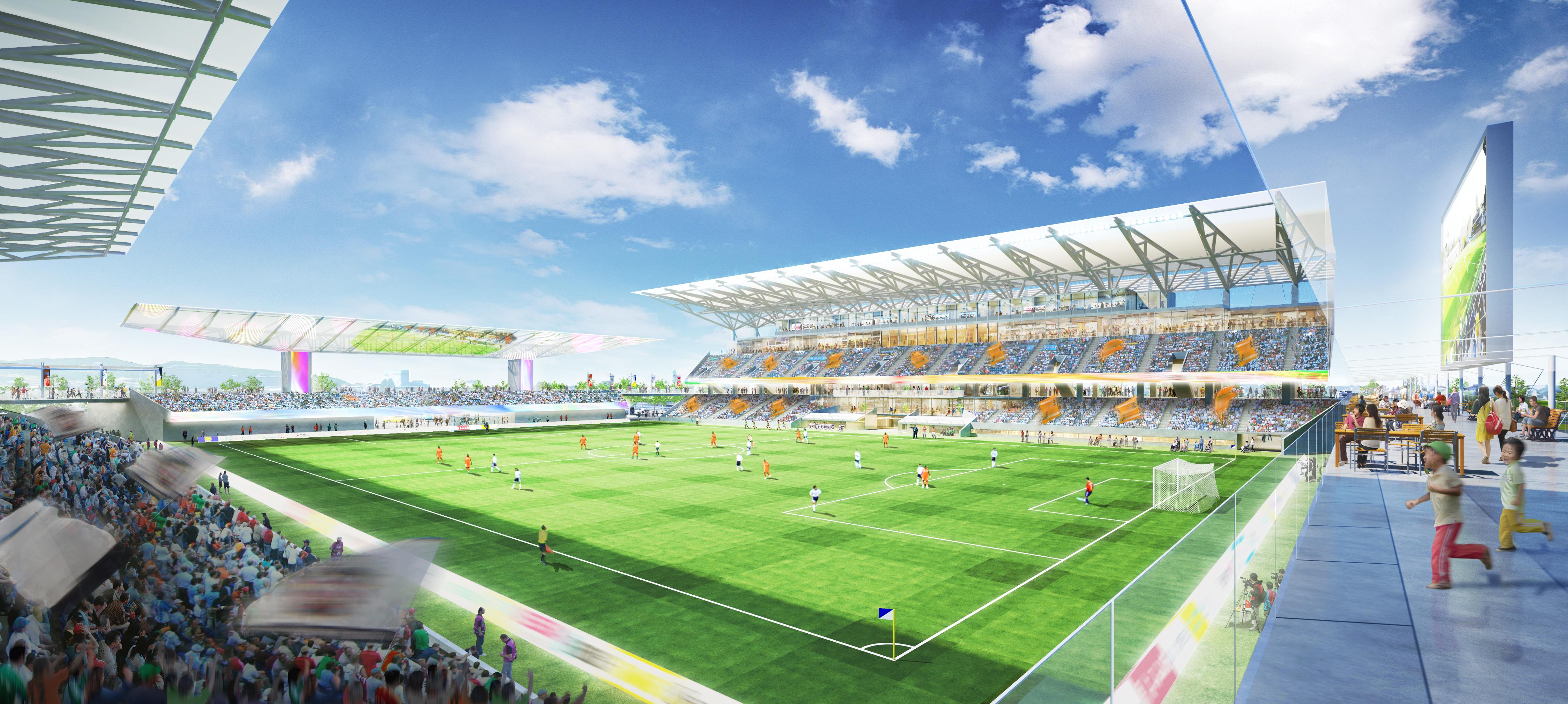 金沢市民サッカー場 (現在、検討中につき、確定したものではありません。)
